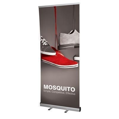 MOSQUITO PULL UP BANNER BUDGET.