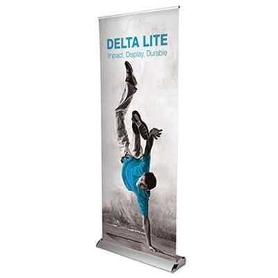 DELTA LITE PULL UP BANNER DELUXE BLOCKOUT.