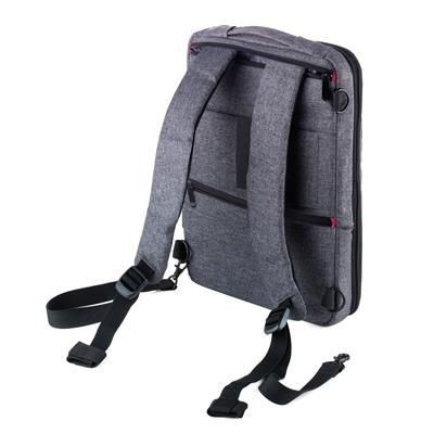TROIKA SAFTSACK BUSINESS BACKPACK RUCKSACK FOR CHARGER ELECTRONIC DEVICES.