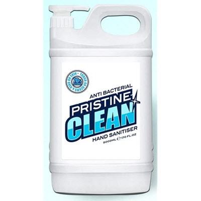 5L PRISTINE CLEAN HAND SANITISER GEL - 70% ALCOHOL, ANTIBACTERIAL.