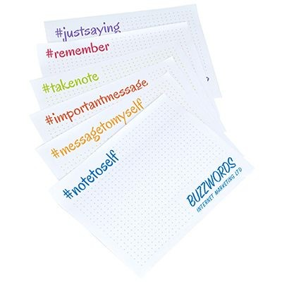 A7 VARIABLE PRINT STICKY-SMART NOTES.