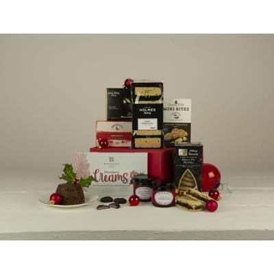 CHRISTMAS CRACKER HAMPER GIFT BOX.