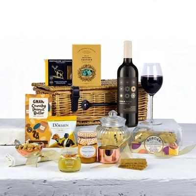 ANY OCCASION RED WINE HAMPER.