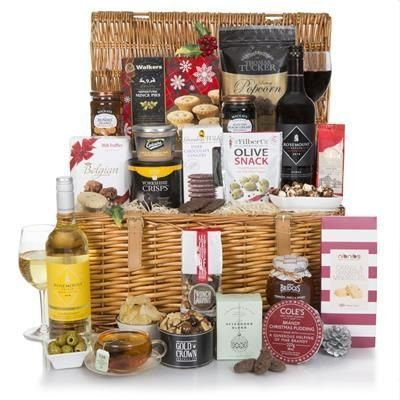 LUXURY TRADITIONAL CHRISTMAS HAMPER.