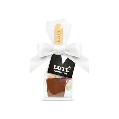 SWING TAG BAG with Hot Choc Marshmallows.