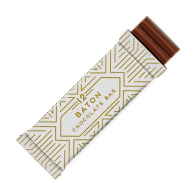 12 BATON MILK CHOCOLATE BAR.
