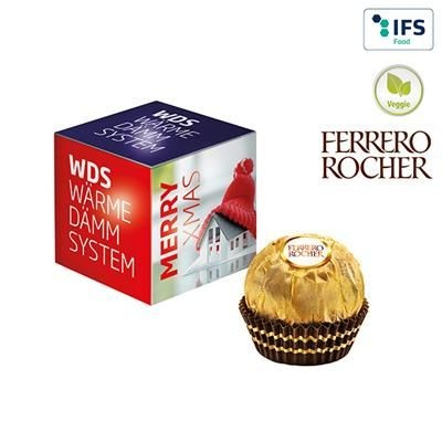 MINI PROMO-CUBE with Ferrero Rocher.