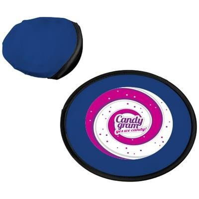 FLORIDA FRISBEE with Pouch in Blue.