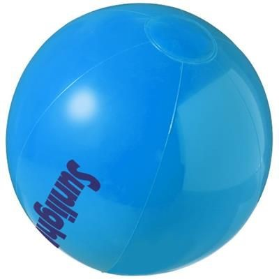 BAHAMAS SOLID BEACH BALL in Blue.