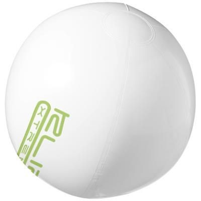 BAHAMAS SOLID BEACH BALL in White Solid.