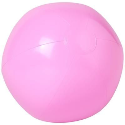 BAHAMAS SOLID BEACH BALL in Light Pink.