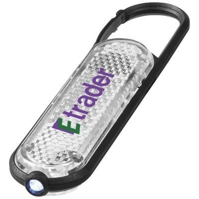 CERES CARABINER REFLECTOR LIGHT in White Solid.