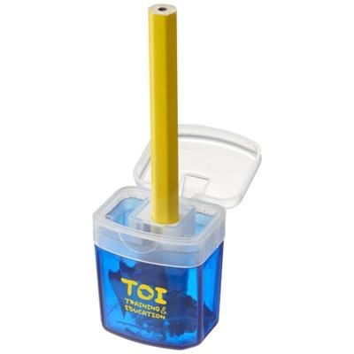 SHARPI SHARPENER with Container in Blue.
