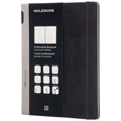PRO NOTE BOOK XL HARD COVER in Black Solid.