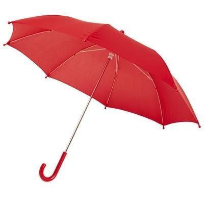 NINA 17 WINDPROOF UMBRELLA FOR CHILDRENS in Red.