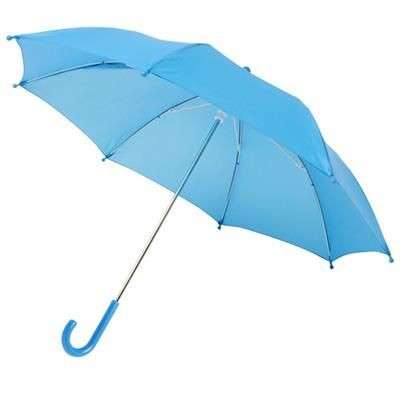 NINA 17 WINDPROOF UMBRELLA FOR CHILDRENS in Process Blue.