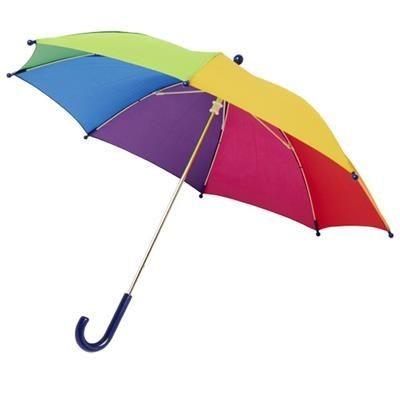 NINA 17 WINDPROOF UMBRELLA FOR CHILDRENS in Rainbow.