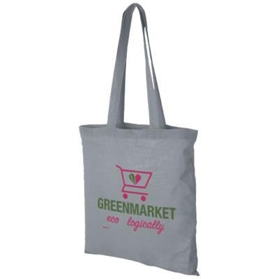 CAROLINA 100 G-M² COTTON TOTE BAG in Grey.