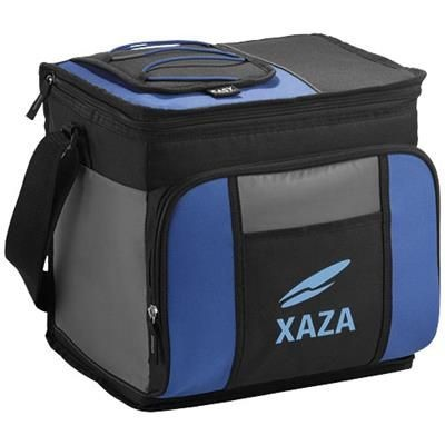 EASY-ACCESS 24-CAN COOL BAG in Royal Blue-black Solid.