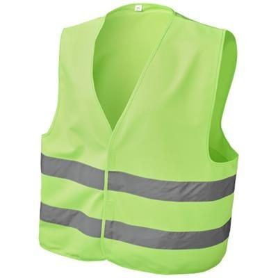 SEE-ME-TOO XL SAFETY VEST FOR NON-PROFESSIONAL USE in Neon Fluorescent Green.