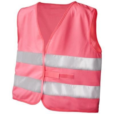SEE-ME-TOO XL SAFETY VEST FOR NON-PROFESSIONAL USE in Neon Fluorescent Pink.