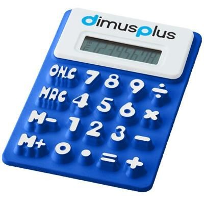 SPLITZ FLEXIBLE CALCULATOR in Royal Blue.
