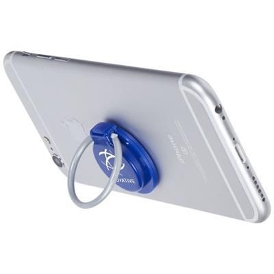 LOOP RING AND MOBILE PHONE HOLDER in Royal Blue.