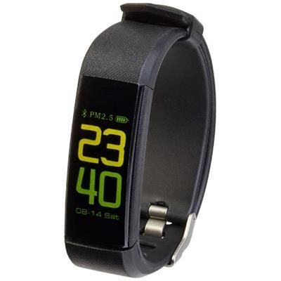 PRIXTON AT801 ACTIVITY TRACKER in Solid Black.