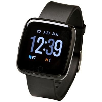 PRIXTON AT803 COLOUR ACTIVITY TRACKER in Solid Black.