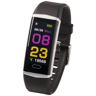 PRIXTON AT805 GPS ACTIVITY TRACKER in Solid Black.