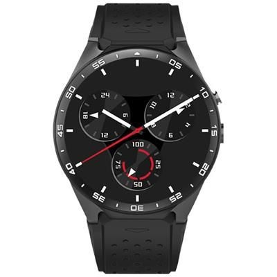 PRIXTON SW41 SMARTWATCH in Solid Black.