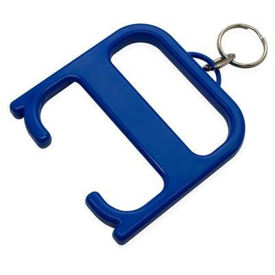 HYGIENE HANDLE with Keyring Chain in Royal Blue.