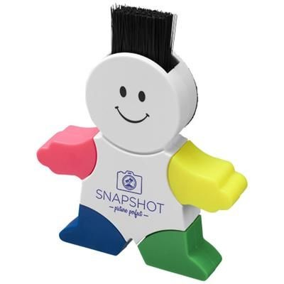 MR Highlighter 4-colour Highlighter in White Solid.