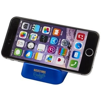 CRIB PHONE STAND in Blue.
