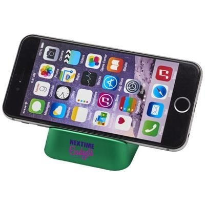 CRIB PHONE STAND in Green.