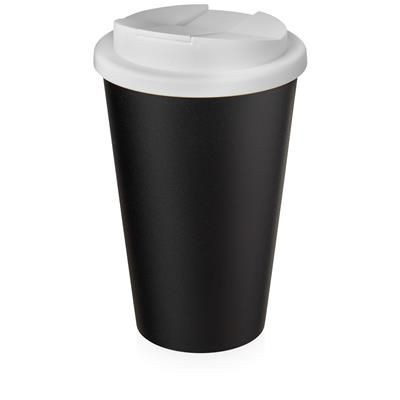 AMERICANO ECO SPILL PROOF in White Solid & Black Solid.