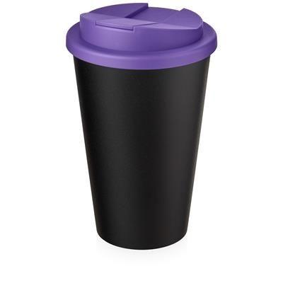 AMERICANO ECO SPILL PROOF in Purple & Black Solid.