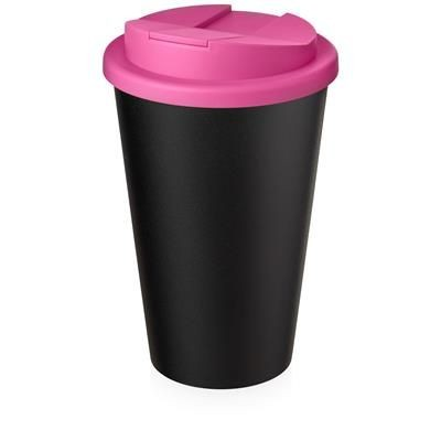 AMERICANO ECO SPILL PROOF in Pink & Black Solid.