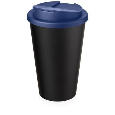 AMERICANO ECO SPILL PROOF in Blue & Black Solid.