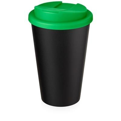 AMERICANO ECO SPILL PROOF in Green & Black Solid.
