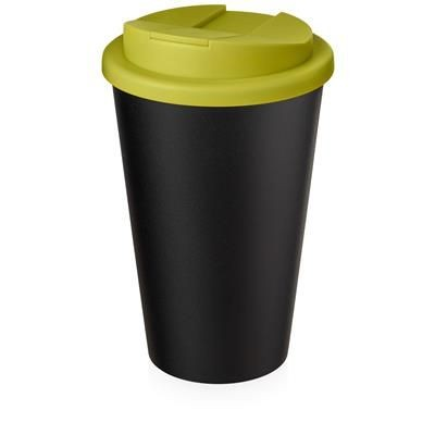 AMERICANO ECO SPILL PROOF in Lime & Black Solid.