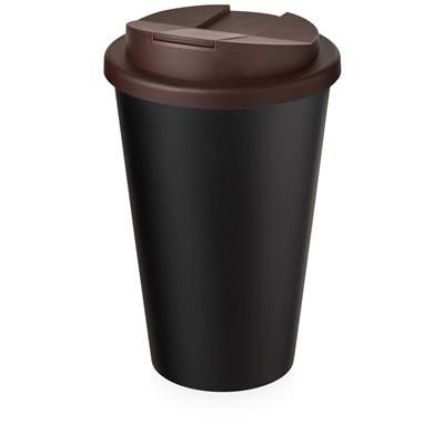 AMERICANO ECO SPILL PROOF in Brown & Black Solid.