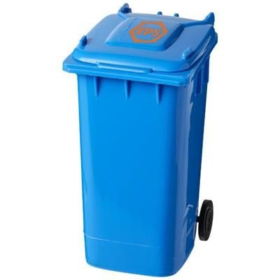 WHEELIE BIN PEN HOLDER in Blue.