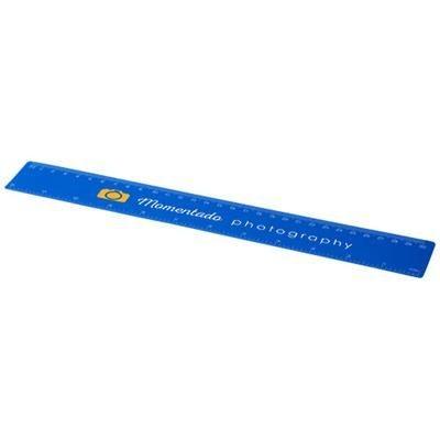 ROTHKO 30 CM PLASTIC RULER in Blue.