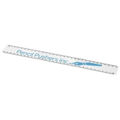 ARC 30 CM FLEXIBLE RULER in White Solid.
