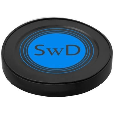 SEAL PLASTIC CAN LIDS in Black Solid.