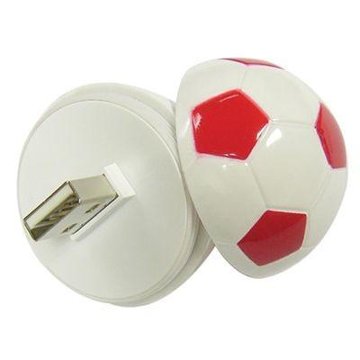 FOOTBALL USB FLASH DRIVE MEMORY STICK.