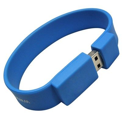 WRIST BAND USB FLASH DRIVE MEMORY STICK.