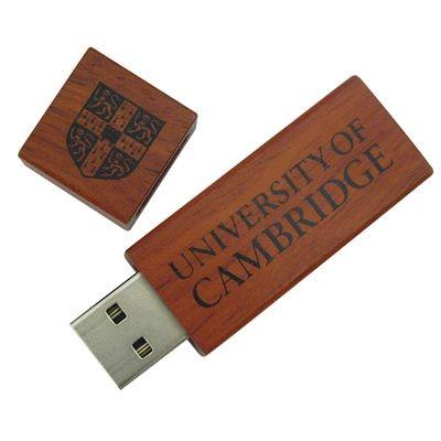 WOOD 1 ECO FRIENDLY USB FLASH DRIVE MEMORY STICK.