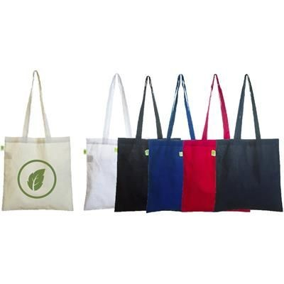 ECO NATURAL & COLOUR COTTON SHOPPER.